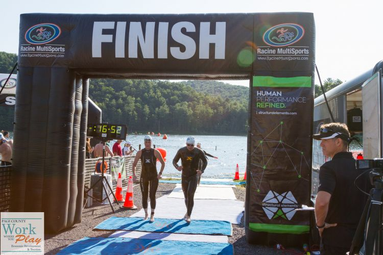Swim Fest at Luray-Finish-